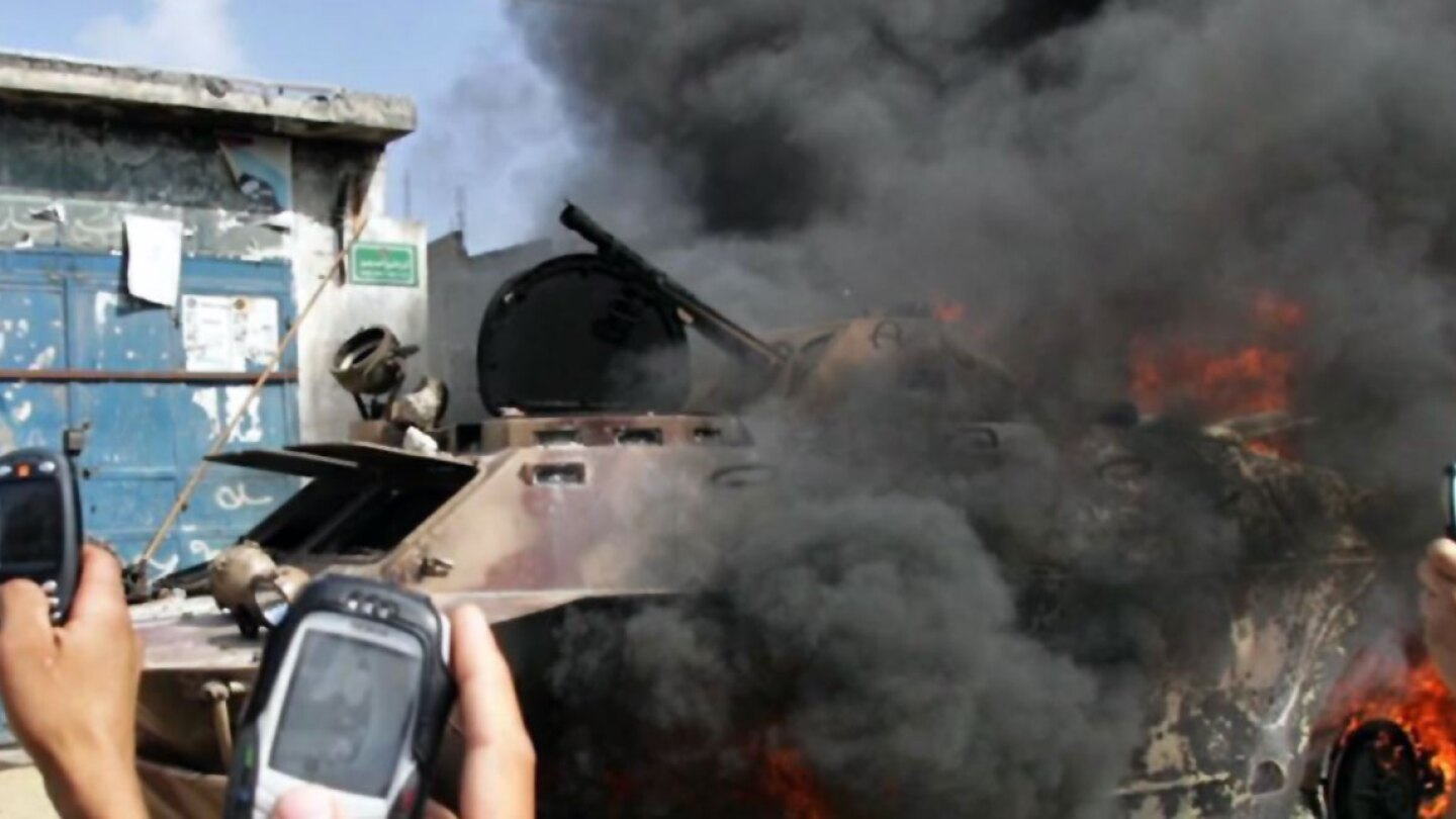 Civilians documenting destruction in Gaza