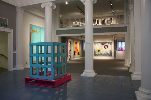 'California Art: Selections from the Frederick R. Weisman Art Foundation'.  Sculpture in foreground by Jason Adkins, 'Soft Candied Vitamin' 2007, mixed media. March 4-May 20, 2012.