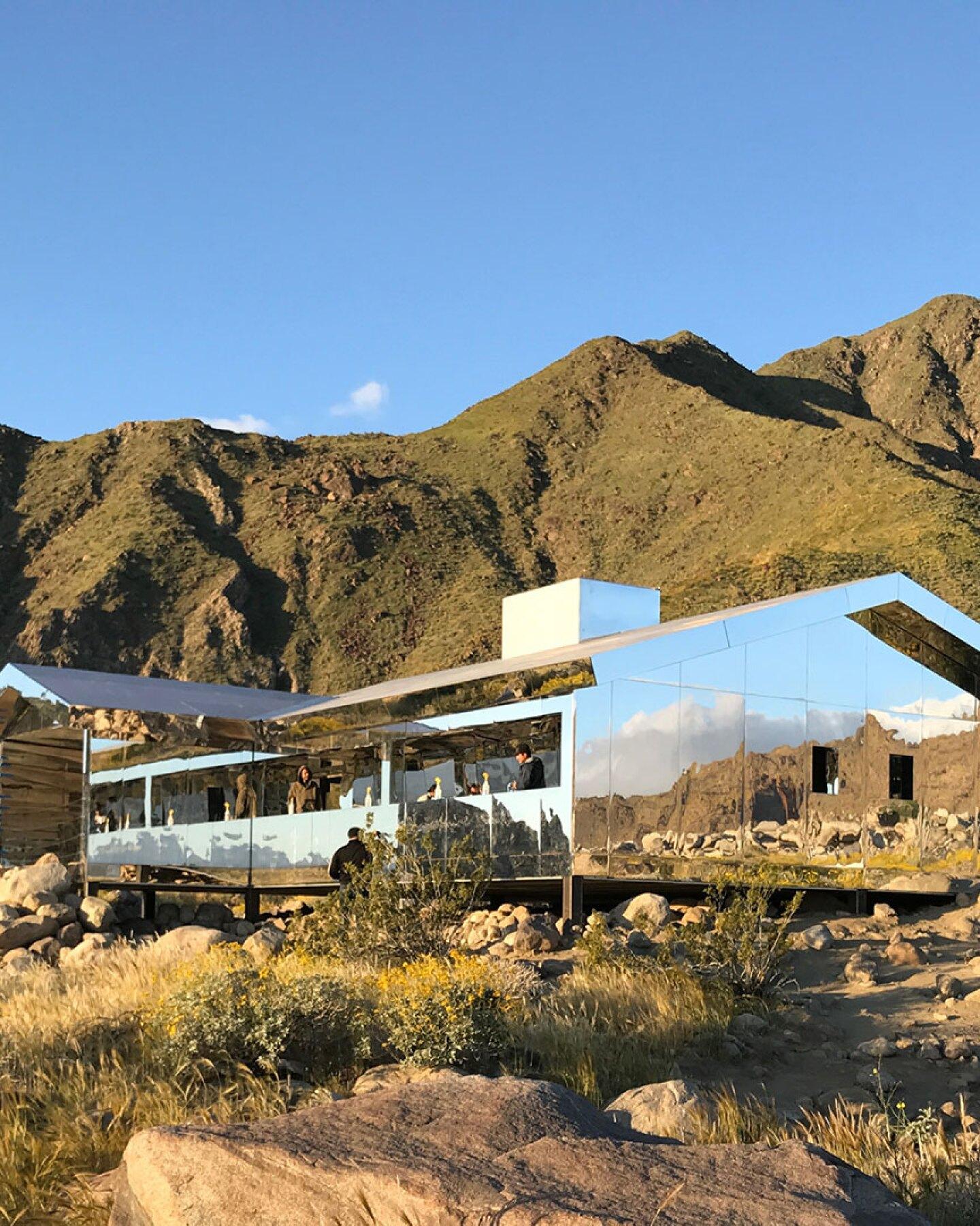 Mirage at Desert X by Doug Aitken | Still from shoot
