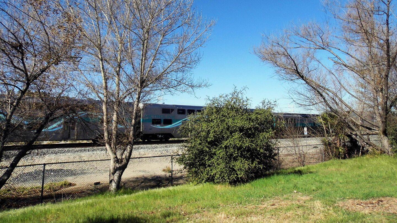 Trains near Taylor Yard River Park.   Sandi Hemmerlein