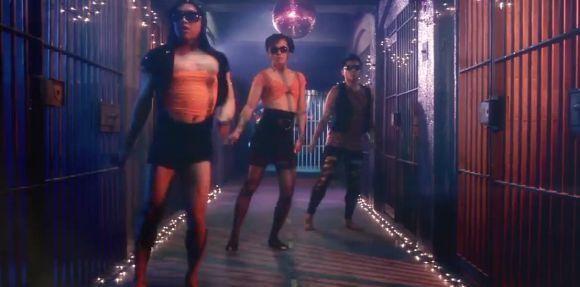 Prison Dancers.