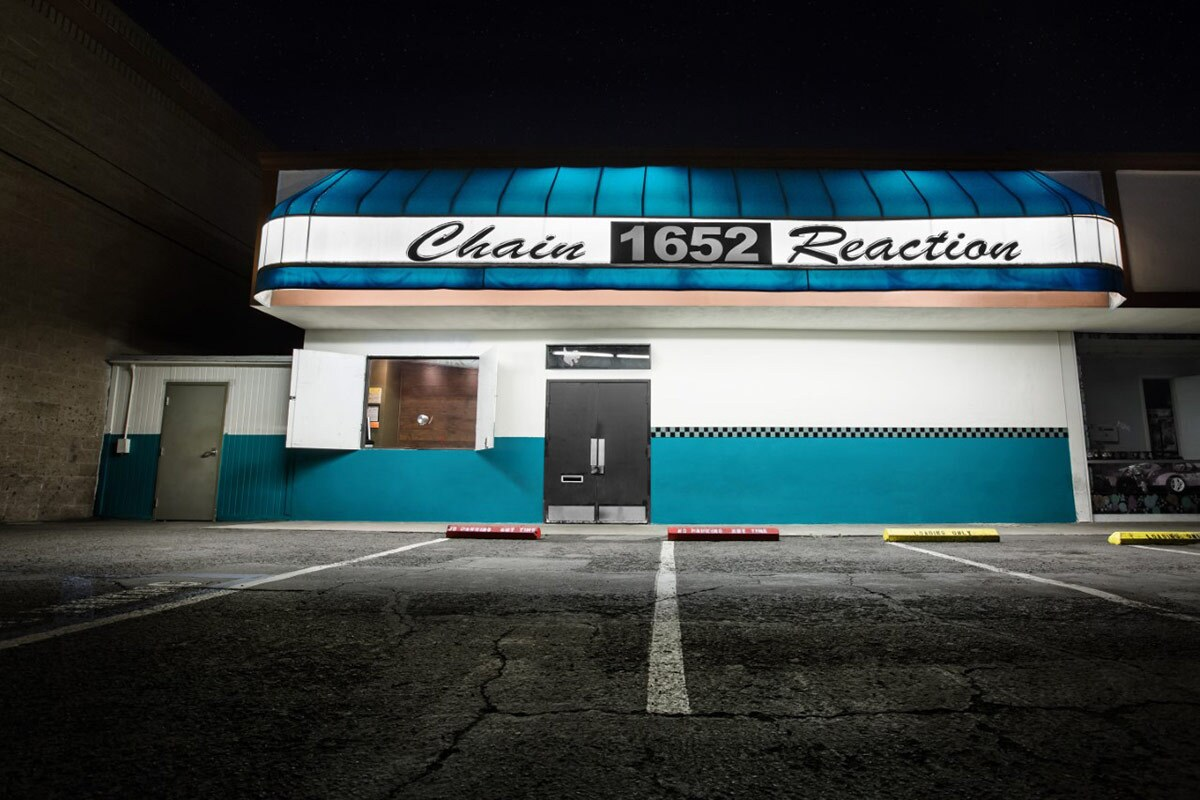 Chain Reaction exterior | Courtesy of Chain Reaction