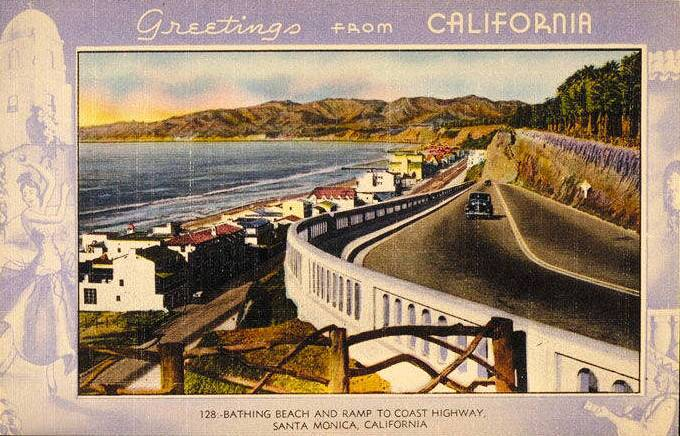 A concrete balustrade, added as part of a reconstruction project in 1935 and seen here in a circa 1940s postcard, became the incline's defining feature.
