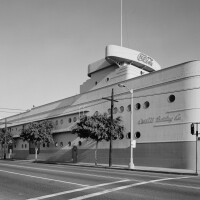 Architect Robert V. Derrah remodeled the Coca-Cola Building, located at 1334 South Central Avenue, into a streamlined ocean liner in 1936 | National Park Service