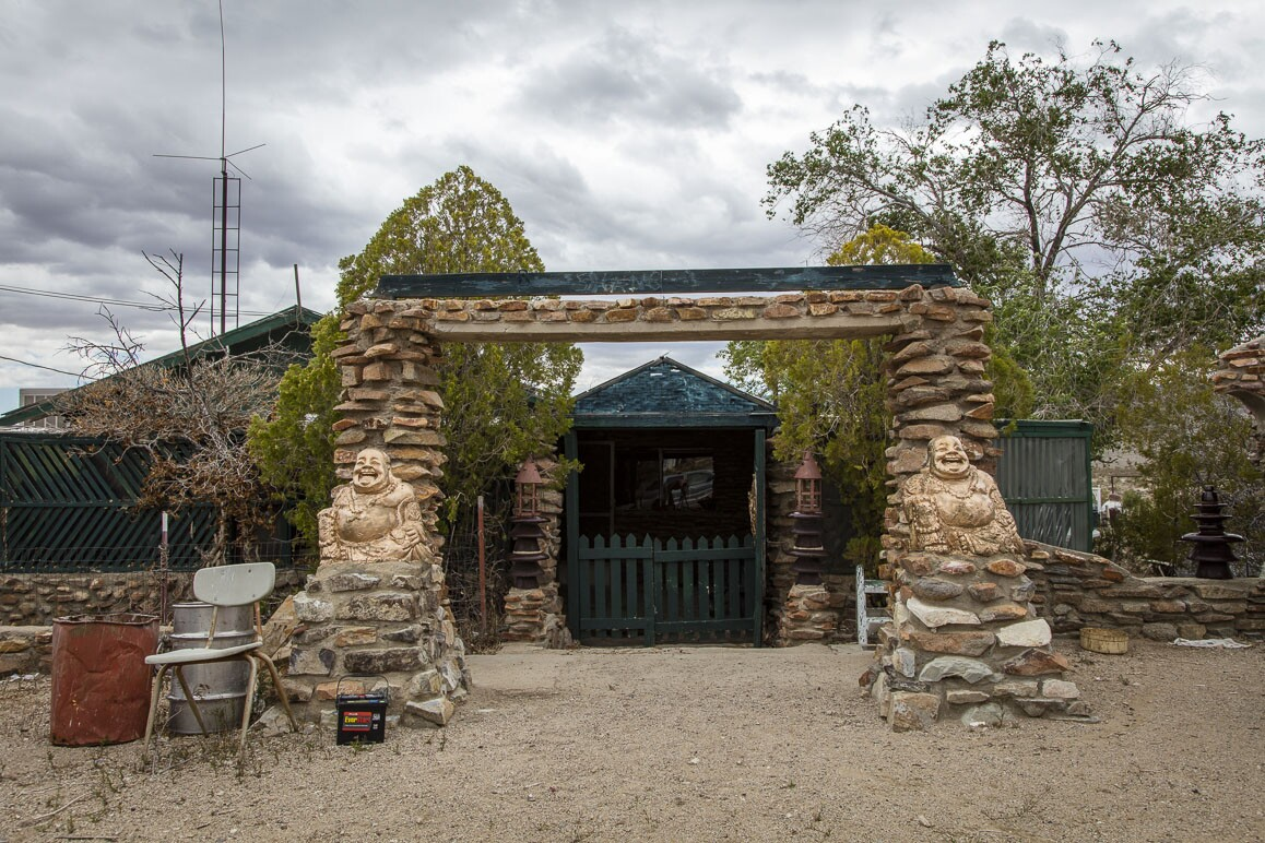 The Brannigan home in Darwin, California