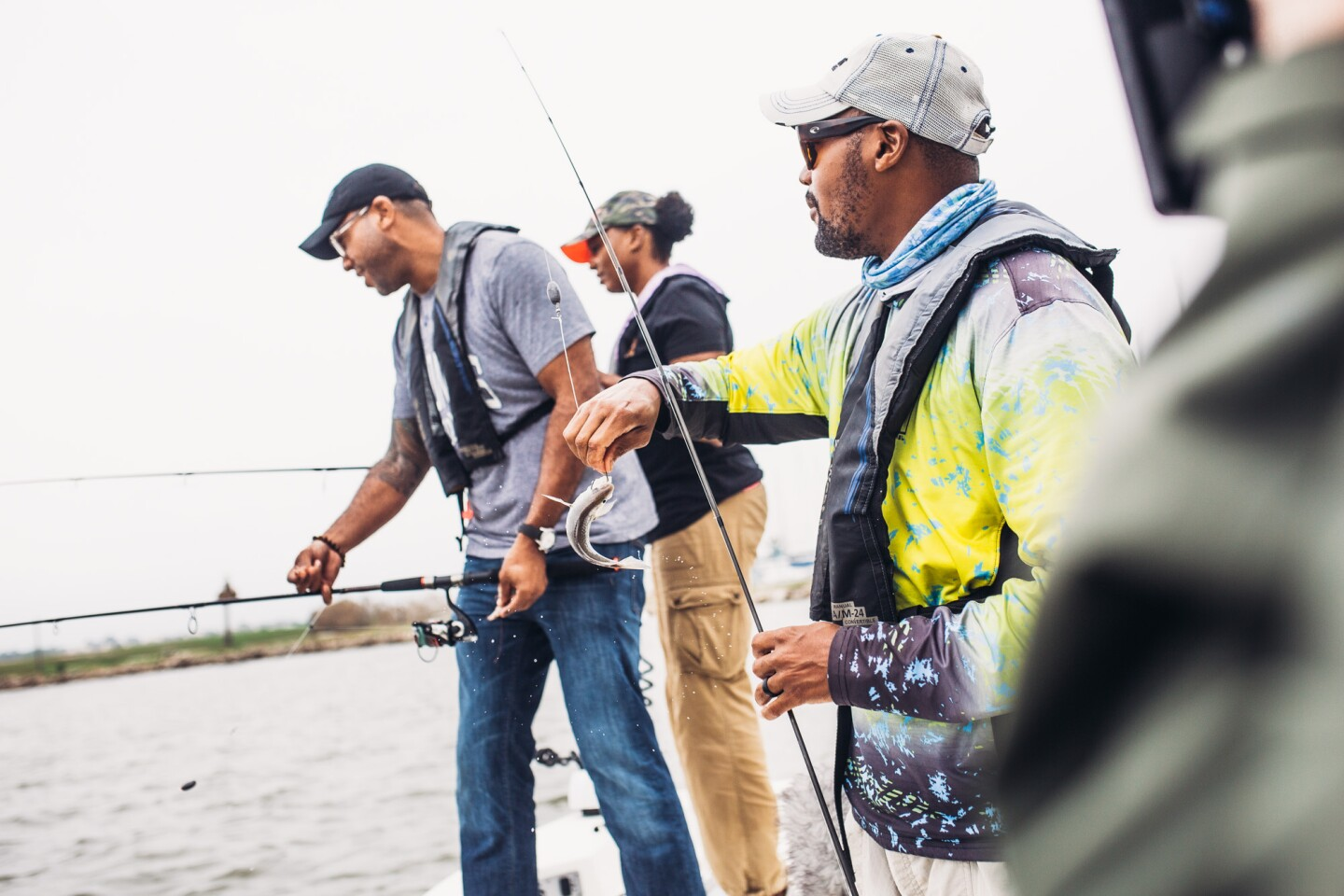 Captain Frederick McBride works closely with local chefs delivering bay water fish through his company, Captain Fred's Seafood.