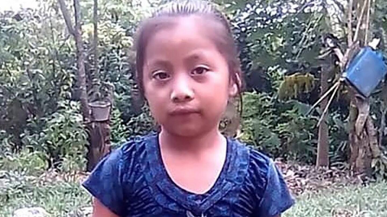 "Jakelin Caal Maquín, 7-year-old girl who died in Border Patrol custody. | Still from ""Democracy Now"""