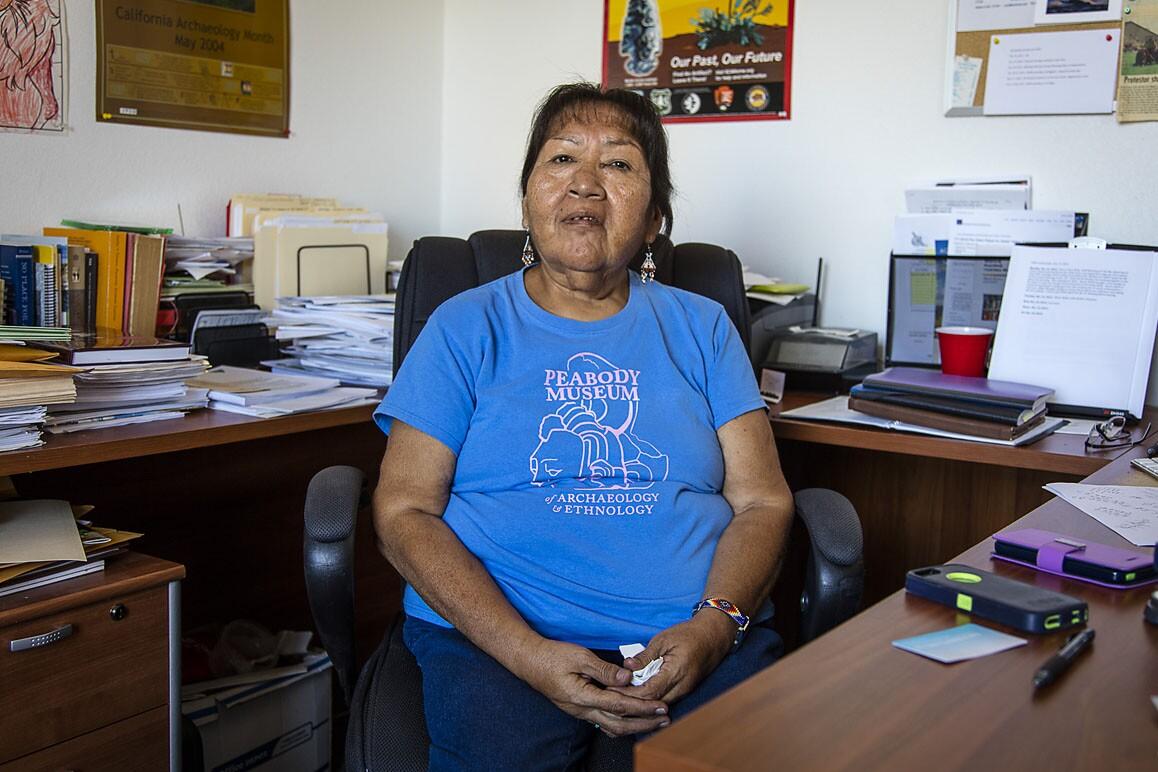 Barbara Durham, Timbisha Shoshone elder and Tribal Historic Preservation Officer