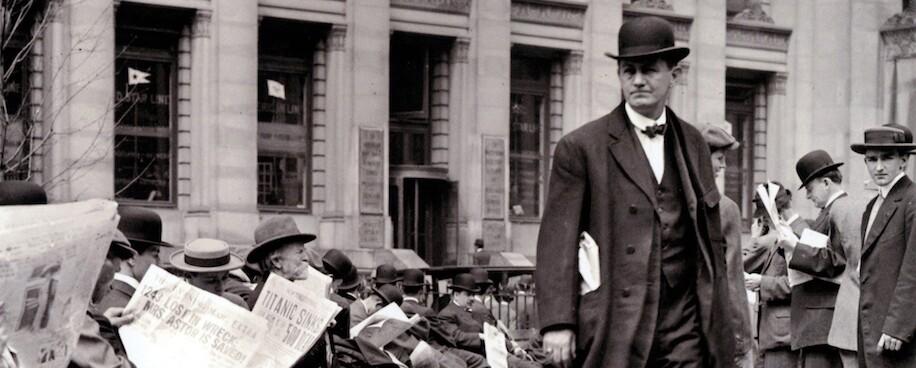 Titanic Newspapers 1912 crop