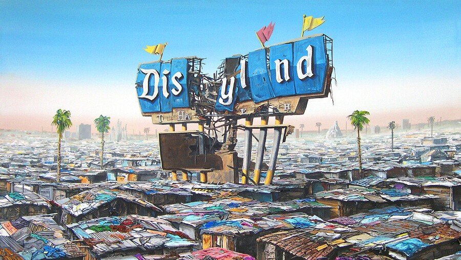 "Jeff Gillette, ""DISYLND."" | Image: Courtesy of the artist."