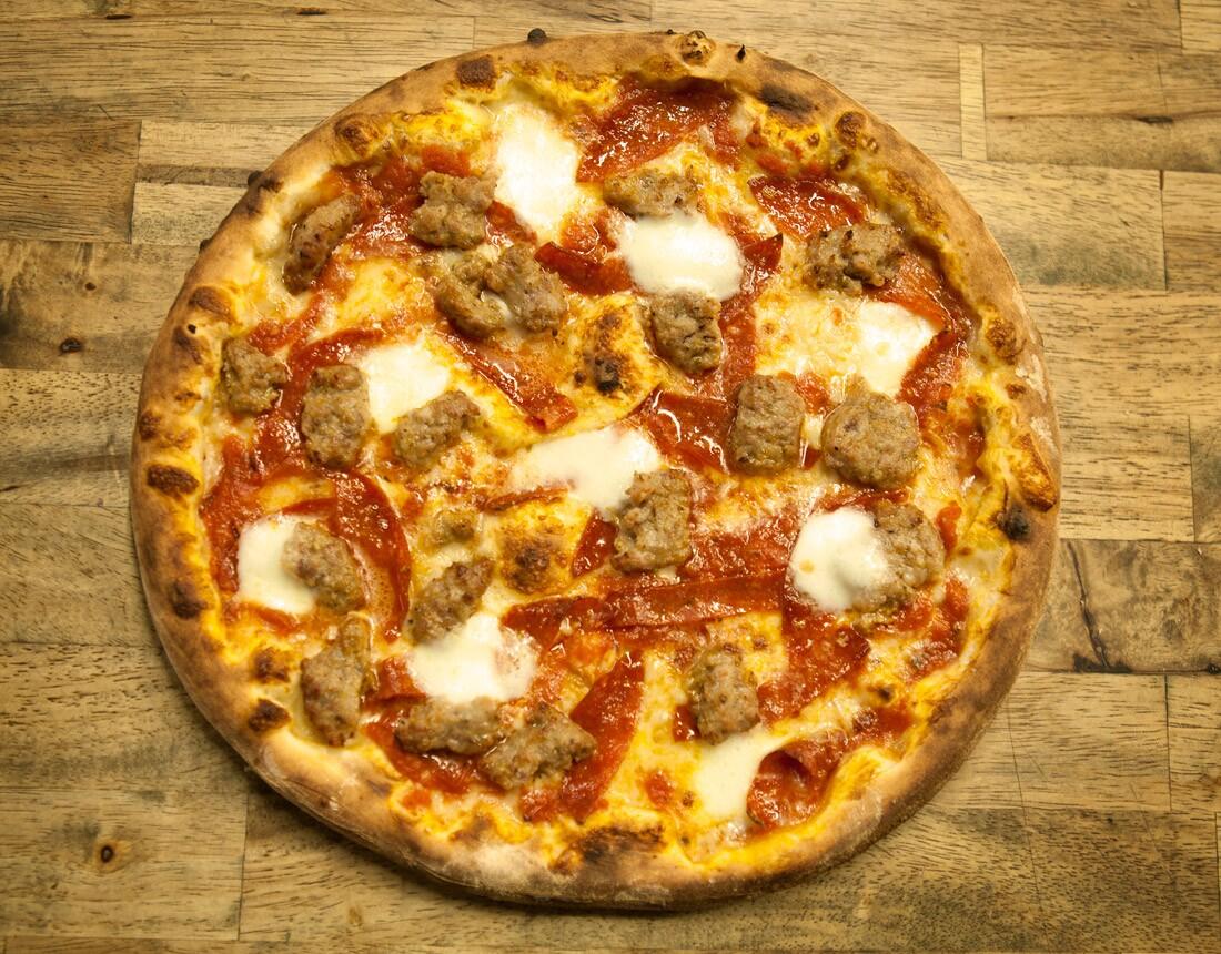 DeSano San Gennaro Pizza | Courtesy of Desano
