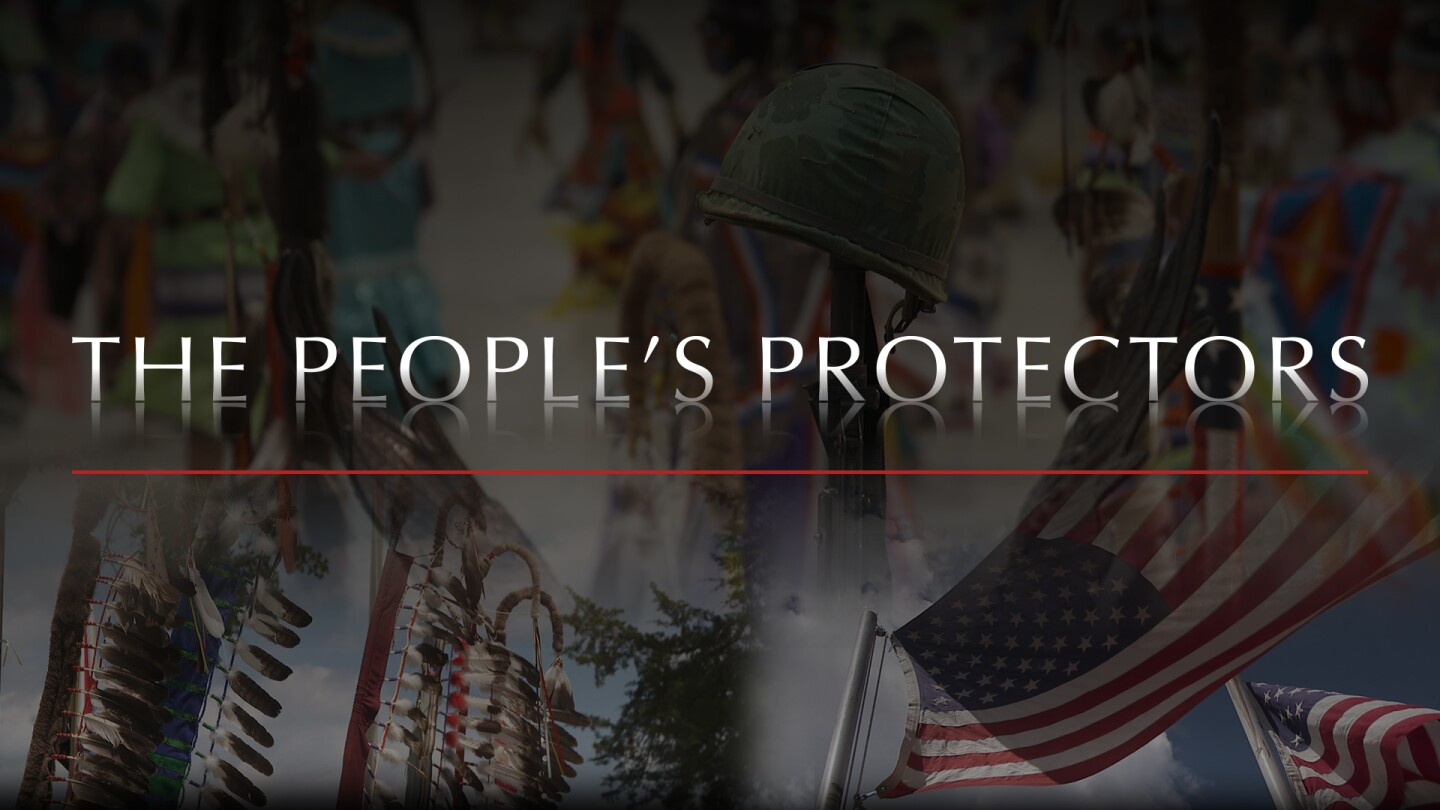 "Title card for ""The People's Protectors."""