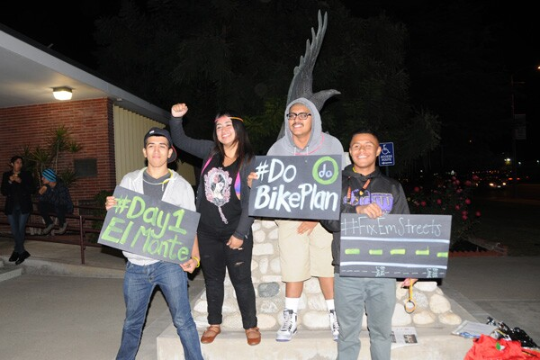 Youth advocated from Day One at the El Monte City Council meeting | Photo: Luis Sierra Campos/KCET Departures