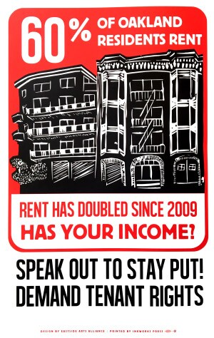 renting inequality poster