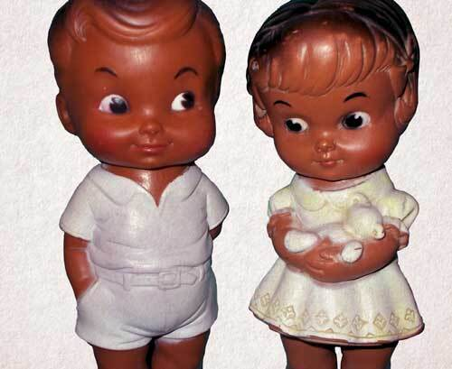 An example of the repurposed dolls the toy industry previously used to cater to the African American community | Debbie Garrett