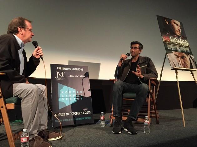 KCET Cinema Series Host Pete Hammond and Director/co-writer Ramin Bahrani