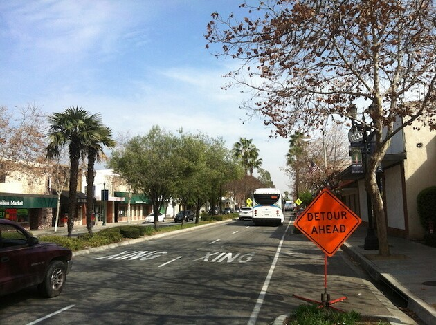 Downtown Arcadia and eastbound 187 bus .jpg