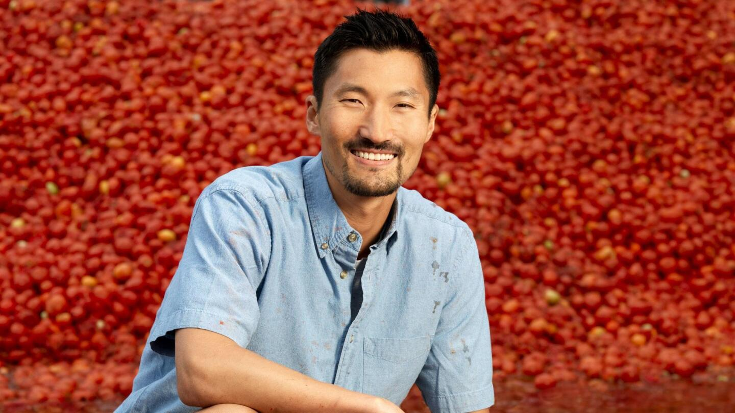 """""""America Revealed"""" host Yul Kwon poses for a picture."""