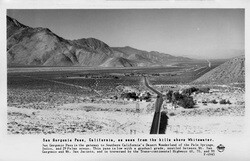 San Gorgonio Pass. Courtesy Pomona Public Library, Frasher Foto Postcard Collection.