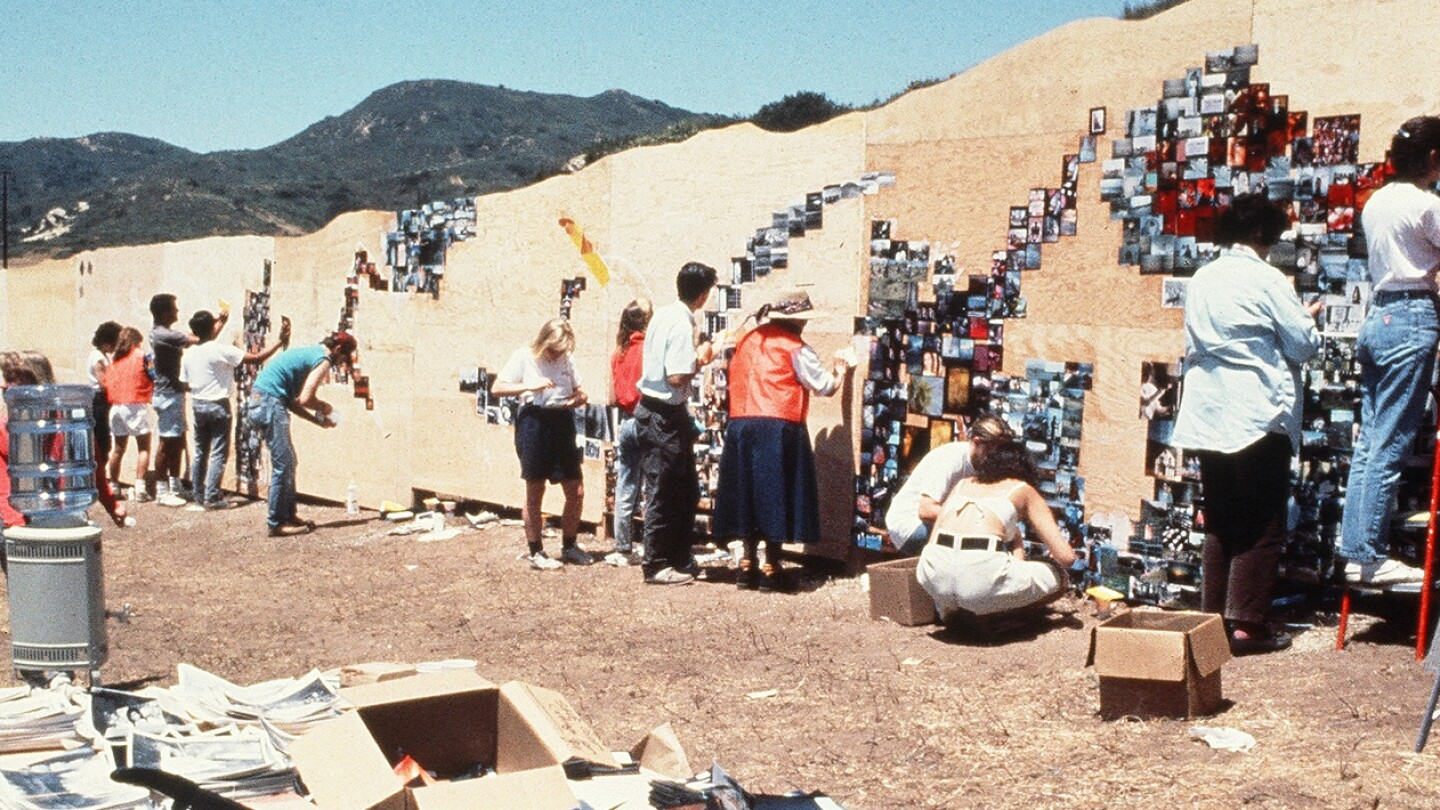 The Laguna Canyon Project by artists Mark Chamberlain and Jerry Burchfield | Photo: Courtesy of BC Space (featured)