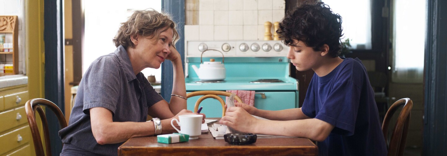"Annette Bening and Lucas Jade Zumann star in ""20th Century Women."" The film was written and directed by Mike Mills."