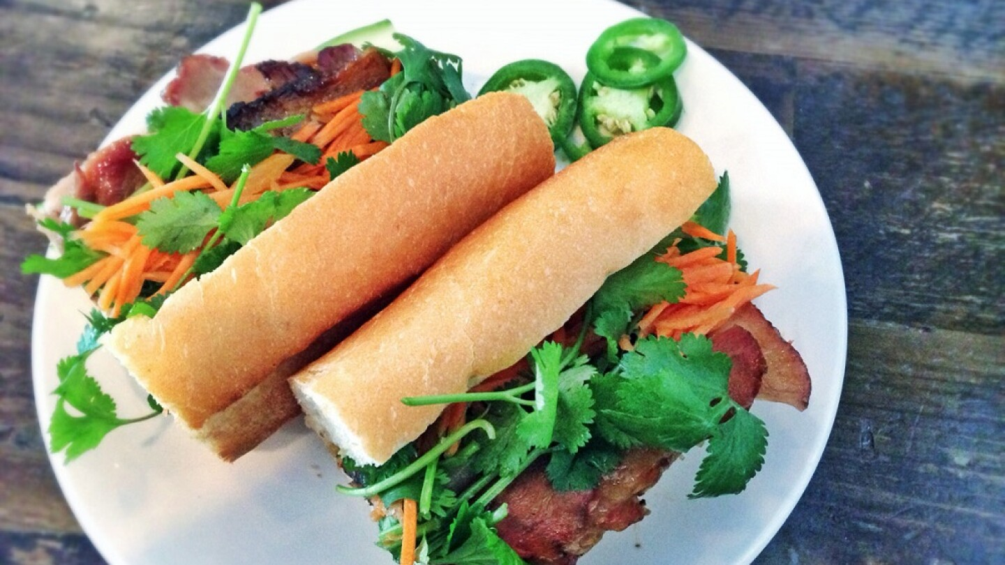Pork bahn mi | T.Tseng/Flickr