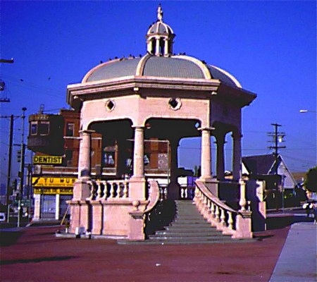 Mariachi Plaza in the late 1980s | Photo courtesy of James Rojas