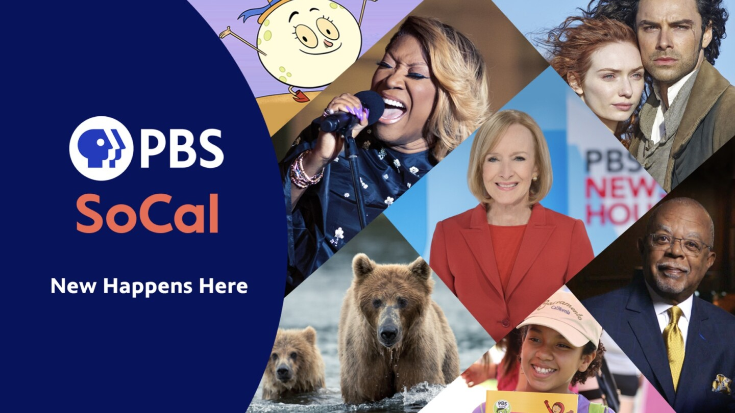 PBS SoCal Rebranding Key Art