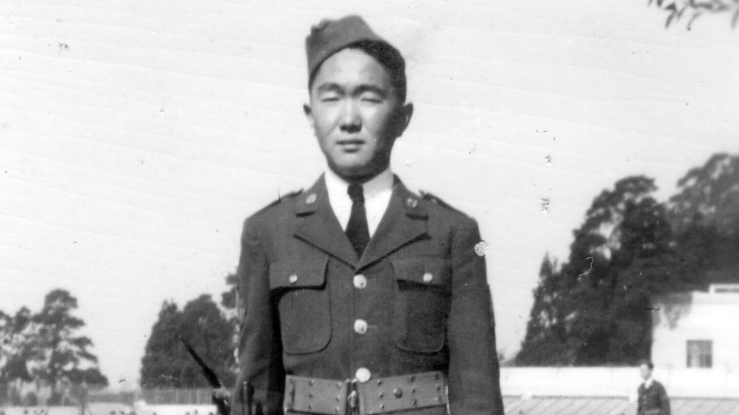 "A Japanese American soldier during World War II. | ""Registry"""