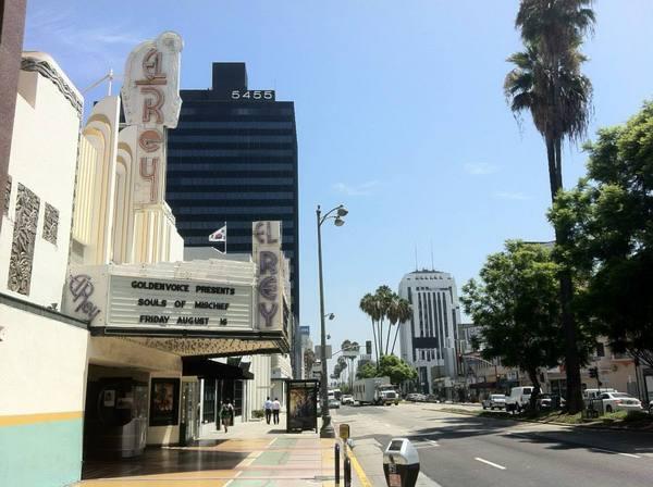 Wilshire-La Brea -- El Rey and KACC