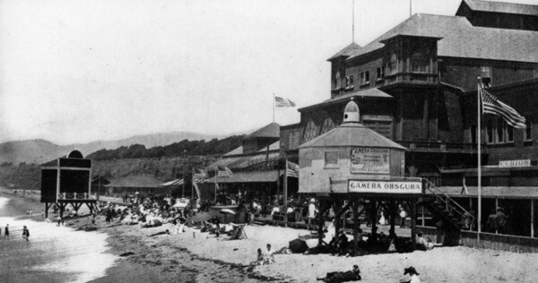 Camera Obscura and the North Beach Bath House, ca. 1898 | Security Pacific National Bank Collection, Los Angeles Public Library