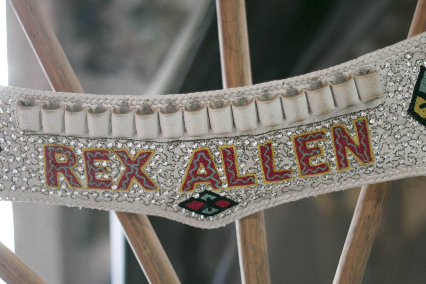 A sparkling cowboy belt made for Rex Allen by Nudie Cohn | Carren Jao