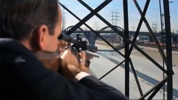 Scene from 'Point Blank' (1967)