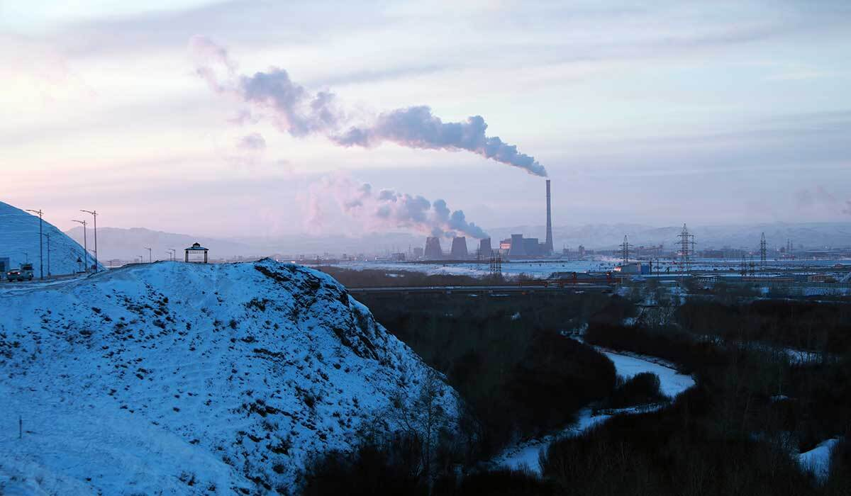 The WHO estimates air pollution causes more than 4,000 deaths a year in Mongolia. | Shanshan Chen/Thomson Reuters Foundation
