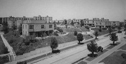 Elevated view of Langston Housing Project complex ca. 1920-ca. 1950 | Theodor Horydczak Collection, Library of Congress, Prints and Photographs Division