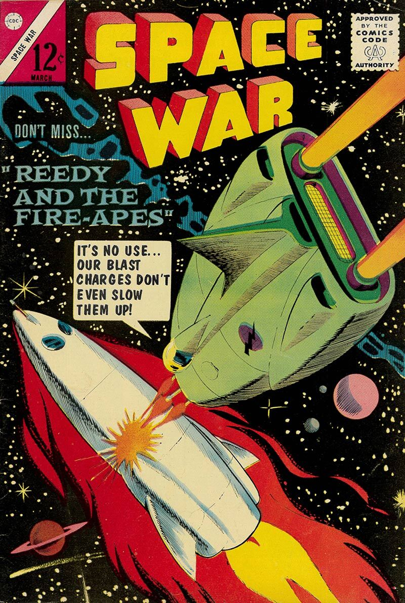 Space War Vol.1 No.27, March 1964 | Courtesy of Henry Cram