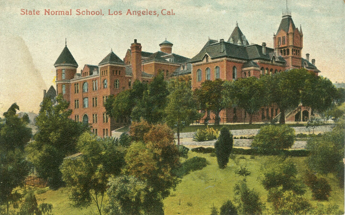 Circa 1910 postcard of the State Normal School