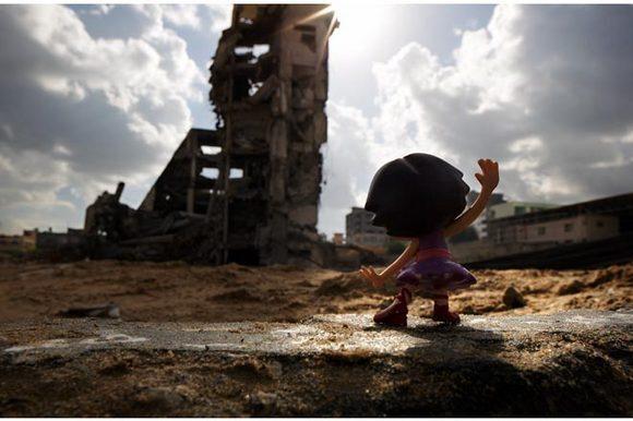 WAR-TOYS in Gaza. | Photo: Brian McCarty.