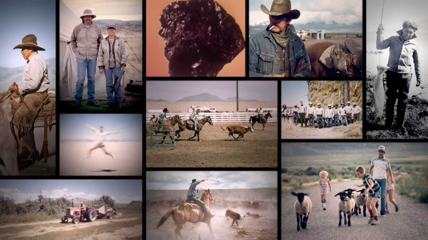 The New West and the Politics of the Environment preview thumbnail with collage of characters from the film