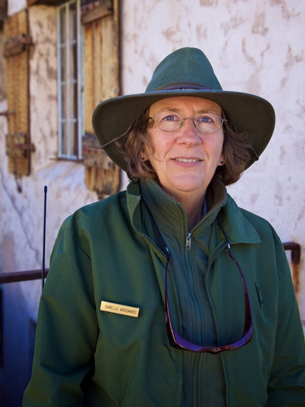 Ranger-Guide Isabelle Woodward - Death Valley, CA - 2015