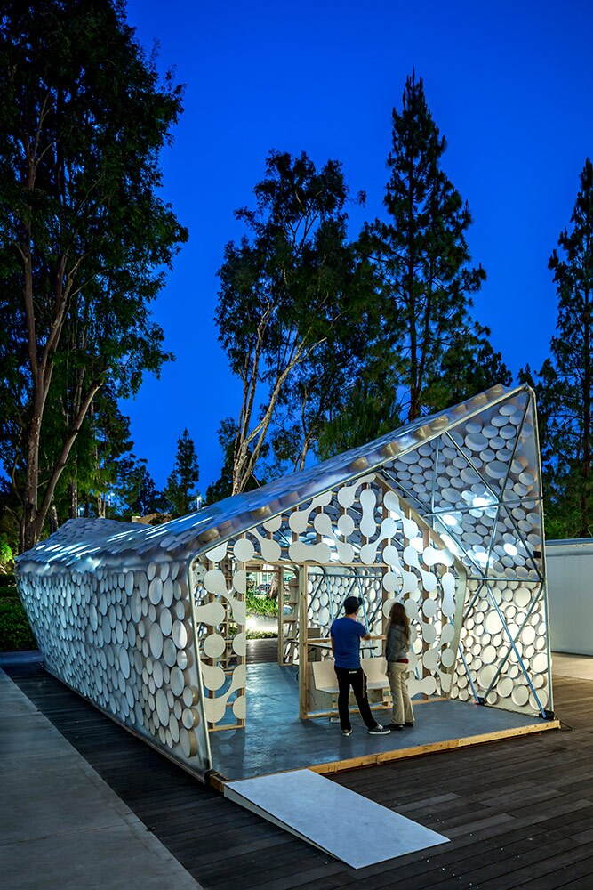Backyard Bihome Exterior (2015) | cityLAB UCLA and Kevin Daly Architects, Photography by Nico Marques/Photekt