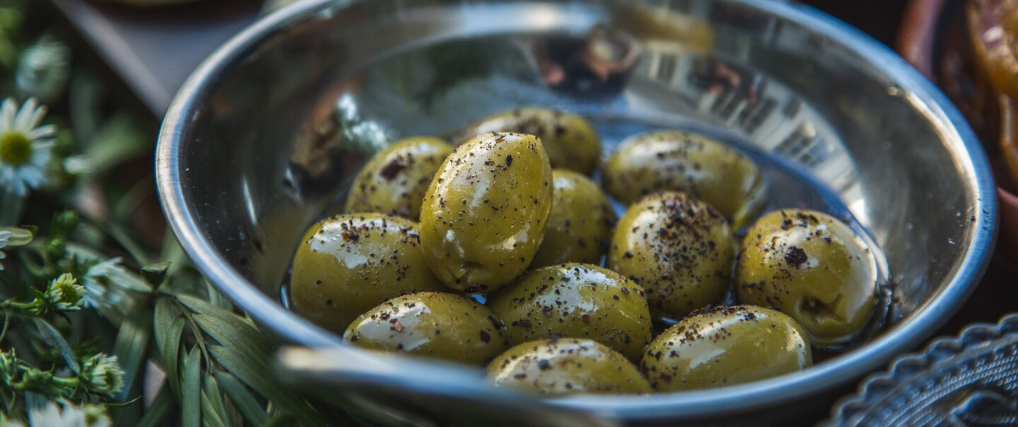 The Migrant Kitchen: Olives