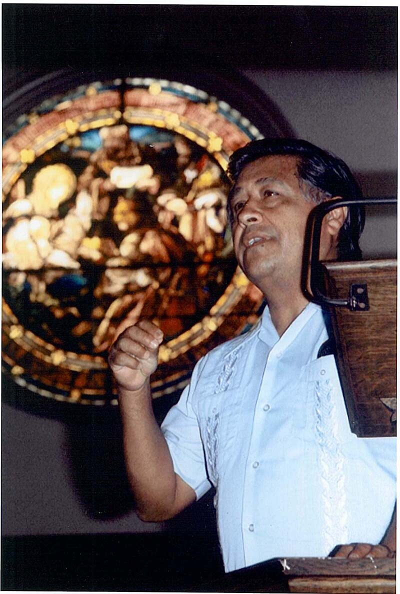 Cesar Chavez at the Church of the Epiphany | Courtesy of the Church of the Epiphany