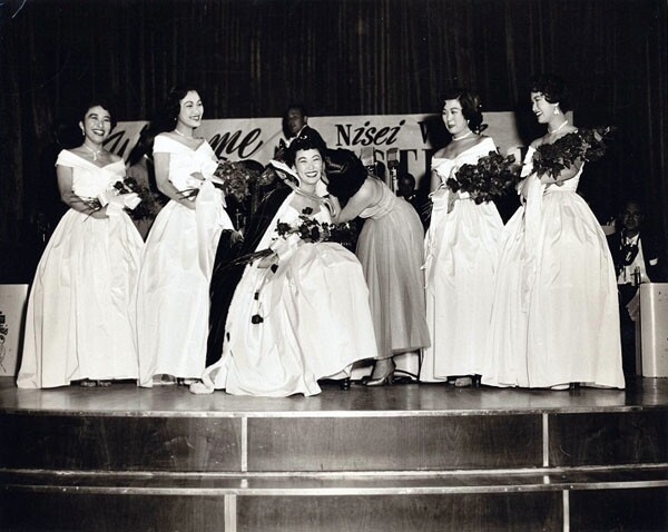 A Nisei Week Queen will always be a Nisei Week Queen in her community. Photo courtesy of Judy Sugita