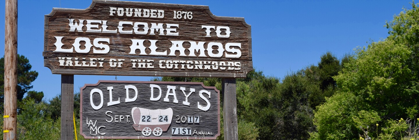 Welcome to Los Alamos.   Danny Jensen