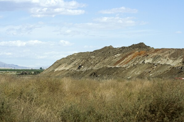 WRT must remove this contaminated soil, according to the EPA | Chris Clarke photo