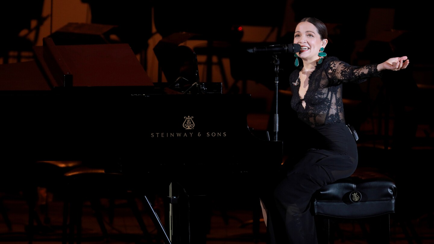 "Natalia Lafourcade at the Hollywood Bowl | Craig T. Mathew and Greg Grudt/Mathew Imaging, Courtesy of the Los Angeles Philharmonic ""In Concert at the Hollywood Bowl"" ep 1 thumbnail"