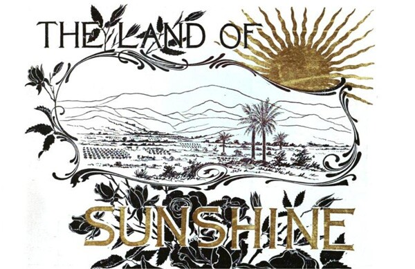 Cover of 'The Land of Sunshine,' 1894
