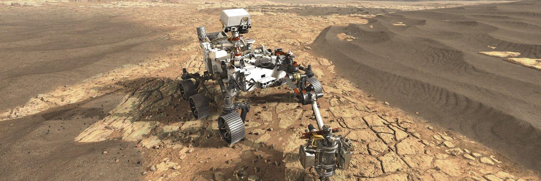 Mars 2020 rover artist's concept. | NASA