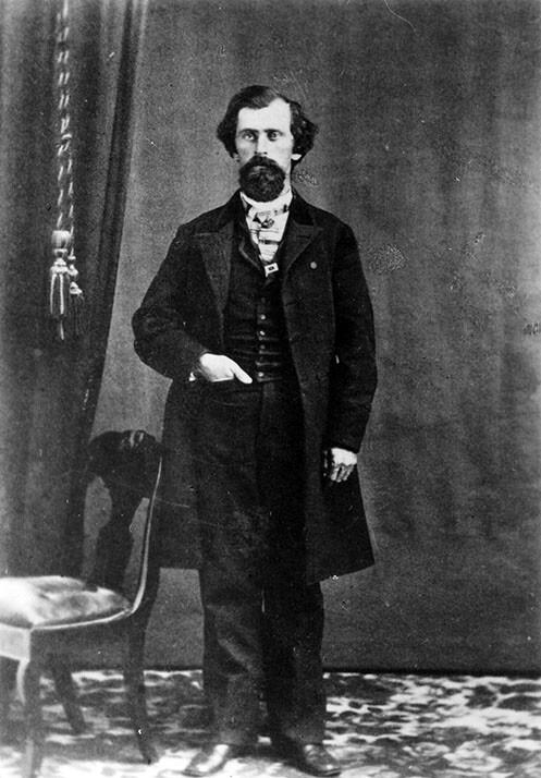 Portrait of William G. Warren, 1867